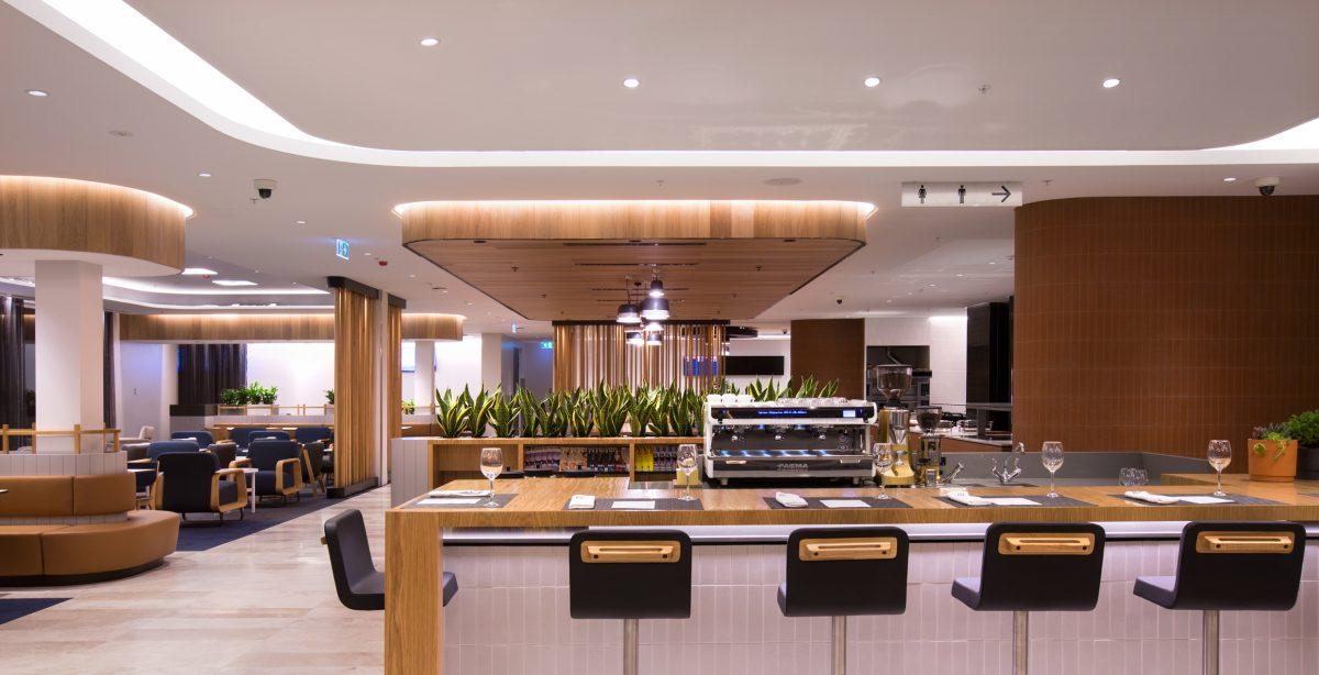 Qantas Perth Lounge