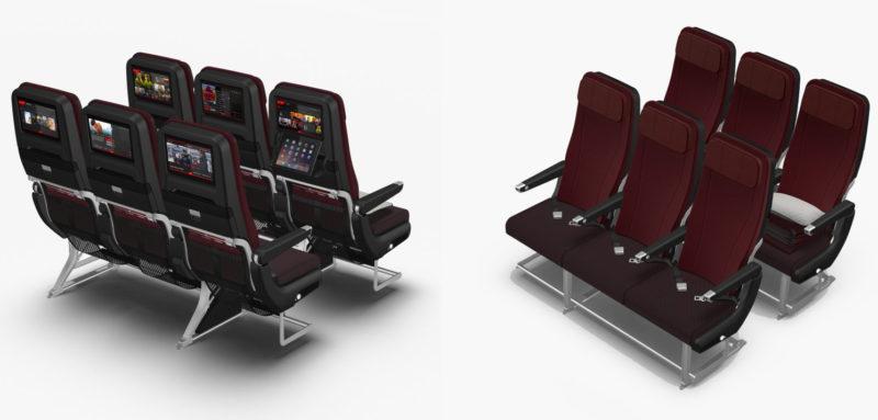 Qantas dreamliner economy seats