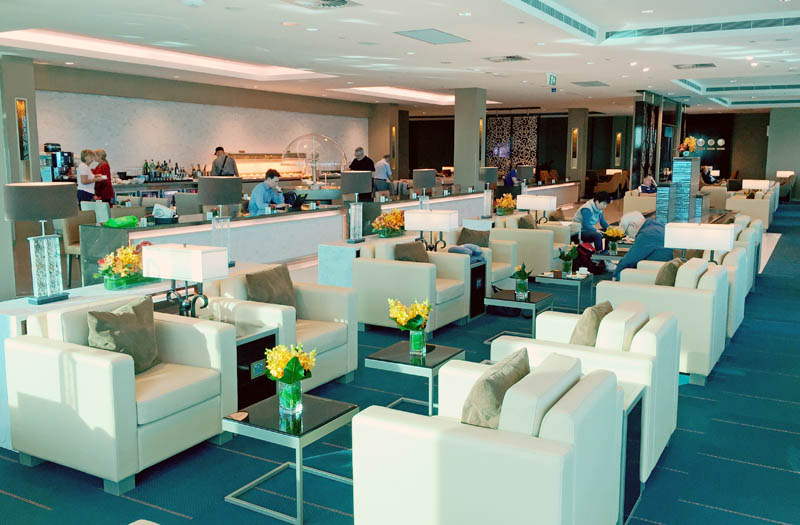 Emirates Lounge Melbourne Airport