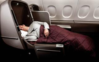 Qantas A380 skybed