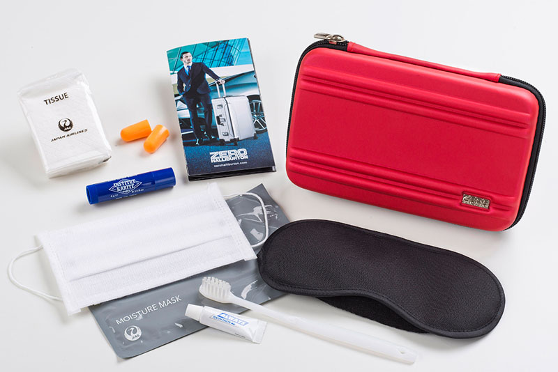 japan airlines amenity kit