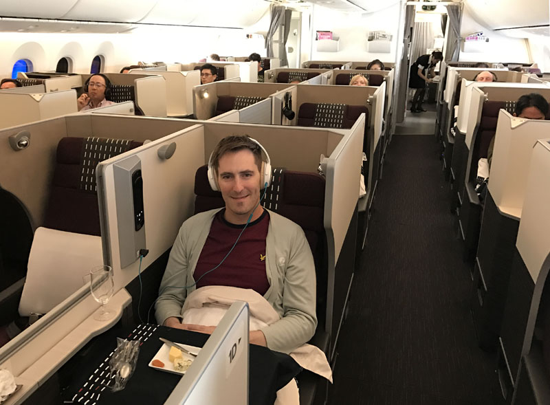 japan airlines cabin