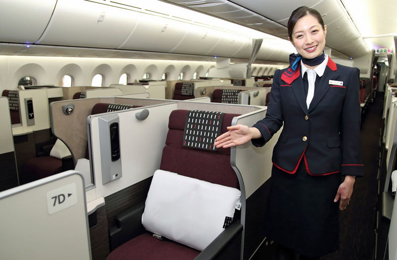 review japan airlines boeing 787 business class sydney. Black Bedroom Furniture Sets. Home Design Ideas