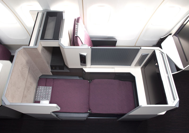 japan airlines 787 business class seat sky suite