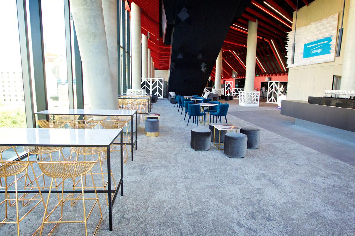 Amex Lounge ICC Sydney Theatre